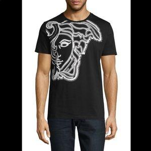 Versace Medusa Head Print Cotton Tee